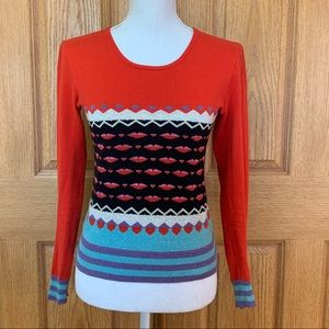 💋❤️Marc Jacobs Printed Sweater XS